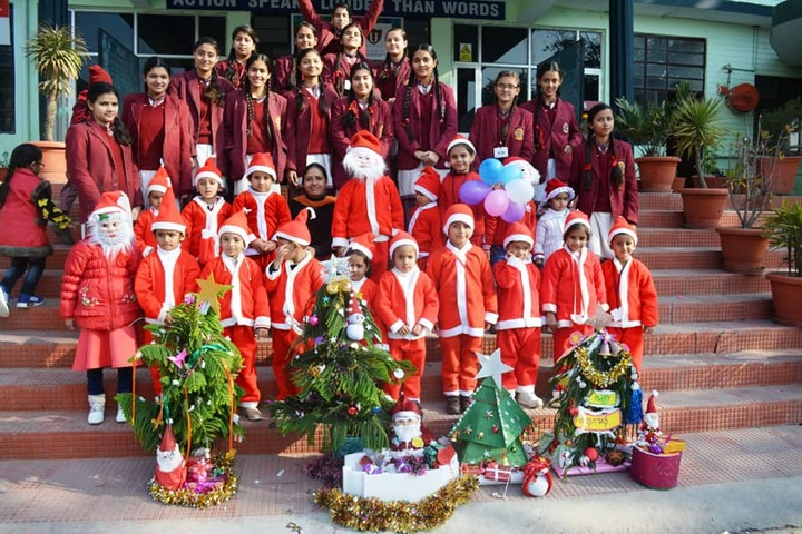 D A V Public Senior Secondary School-Christmas Celebrations