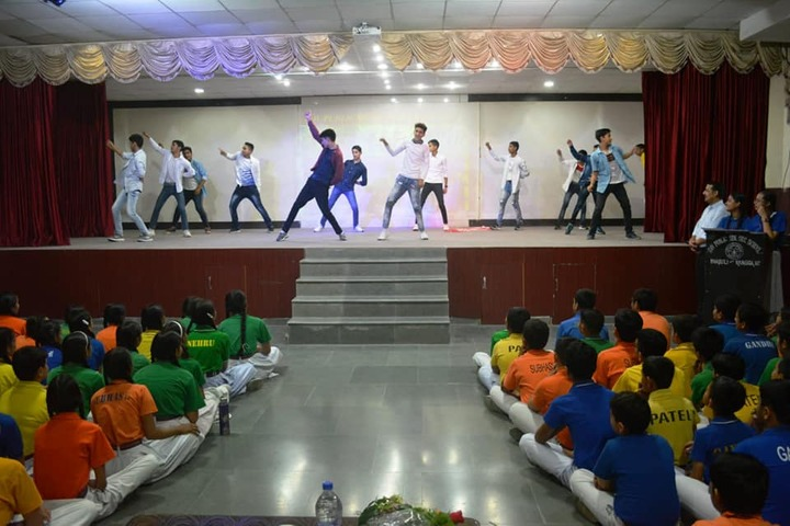 D A V Public Senior Secondary School-Dance