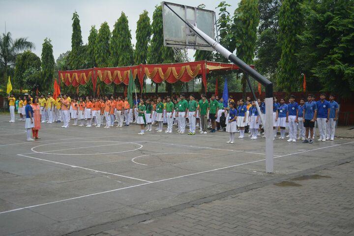 D A V Public Senior Secondary School-Ground