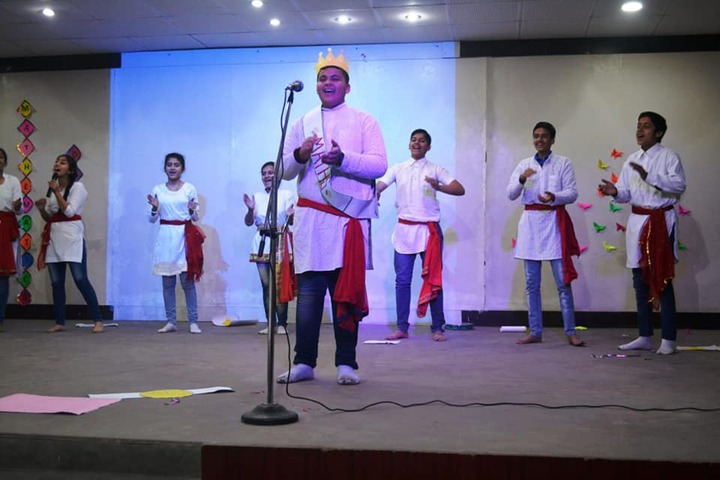 D A V Public Senior Secondary School-Singing