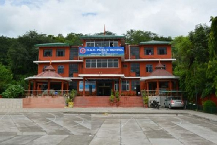 D A V Public Senior Secondary School-Campus View