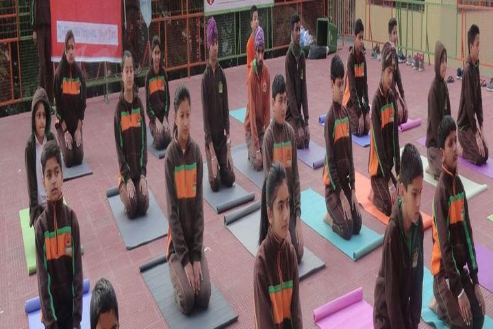 Dalhousie Hill Top School-Yoga