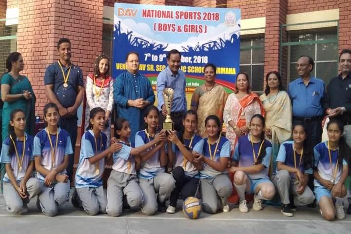 DAV Centenary Public School-Sports Team