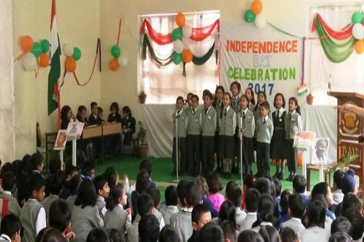 DAV Mahatma Anand Swami Public School-Independence day Celebration