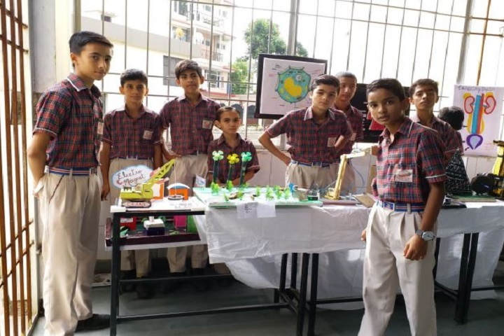DAV Public School-Science Exhibition