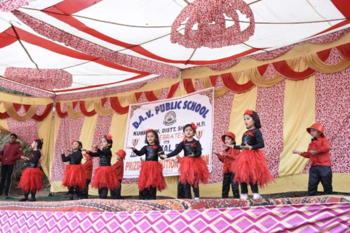 DAV Public School-Dance