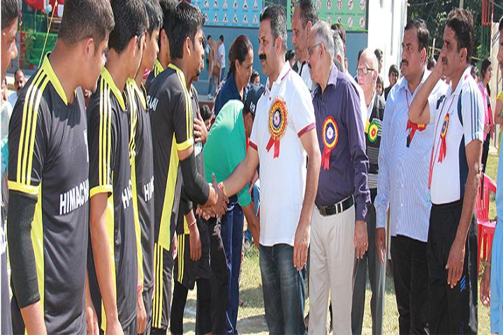 Dav Senior Secondary Public School-Sports Team