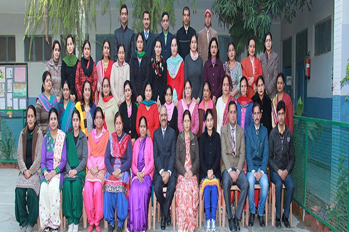 Dav Senior Secondary Public School-Staff