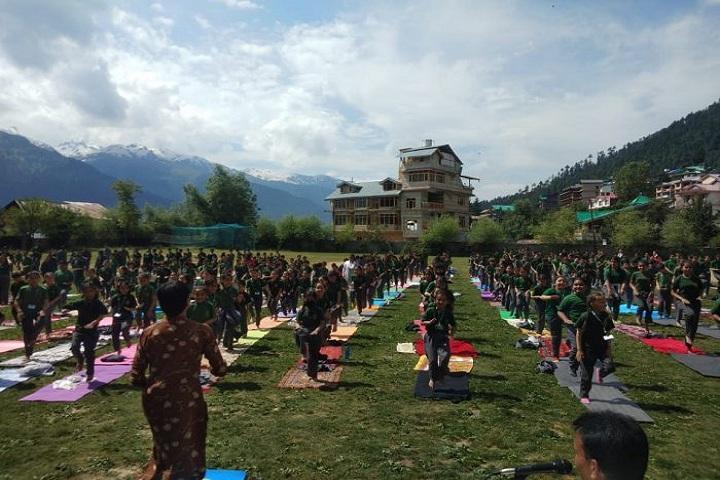 Delhi Public School-Yoga Day