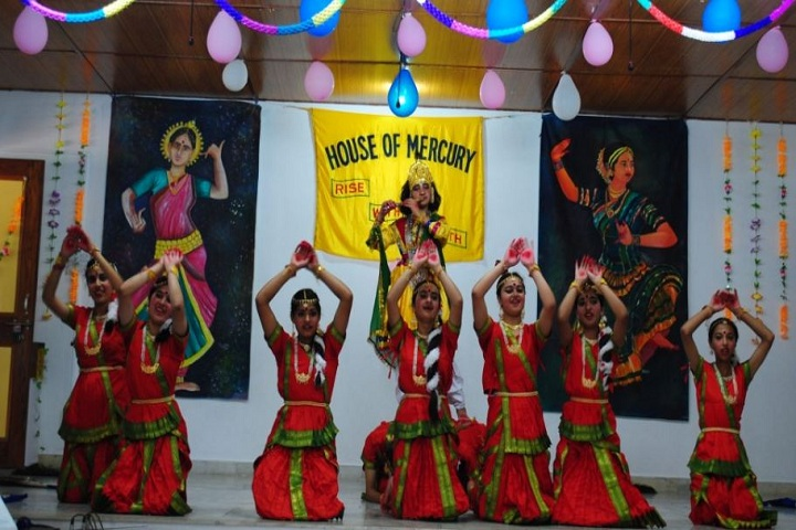 Durga Public School-Dance