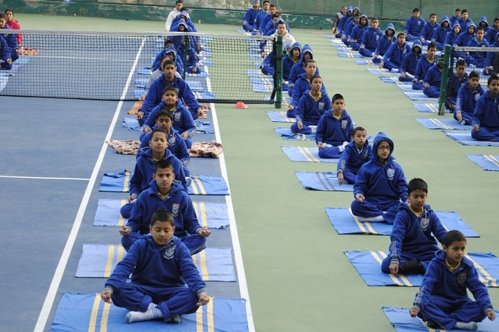 Durga Public School-Yoga