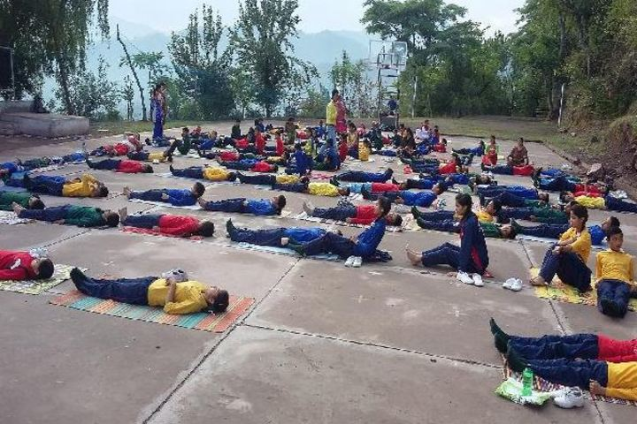Florence Convent School-Yoga Day