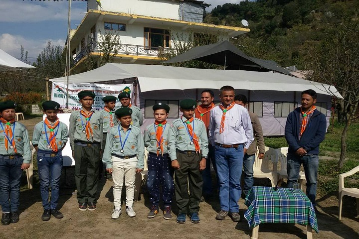 Genius International Public School-NCC