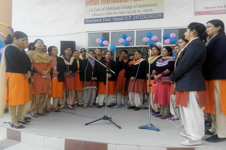 Genius International Public School-Singing