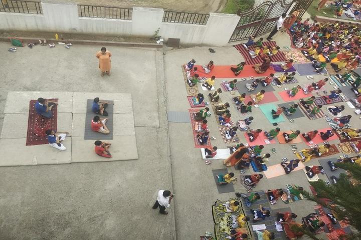 Genius International Public School-Yoga Day