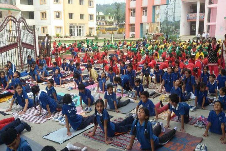 Genius International Public School-Yoga