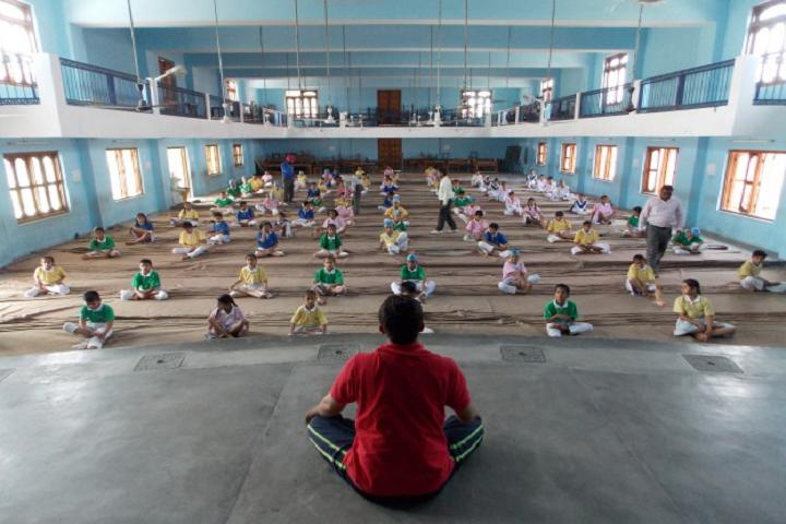 Guru Nanak Mission Public School-Yoga