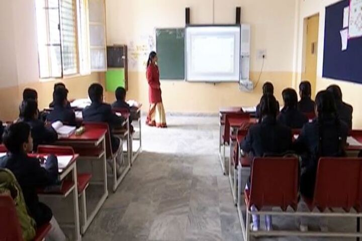 Gurukul International Senior Secondary School-Classroom