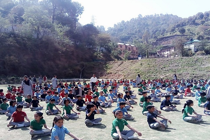 Gurukul Peach Valley International School Rajgarh-Meditation