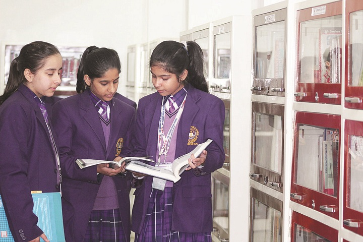 Him Academy Public School-Library