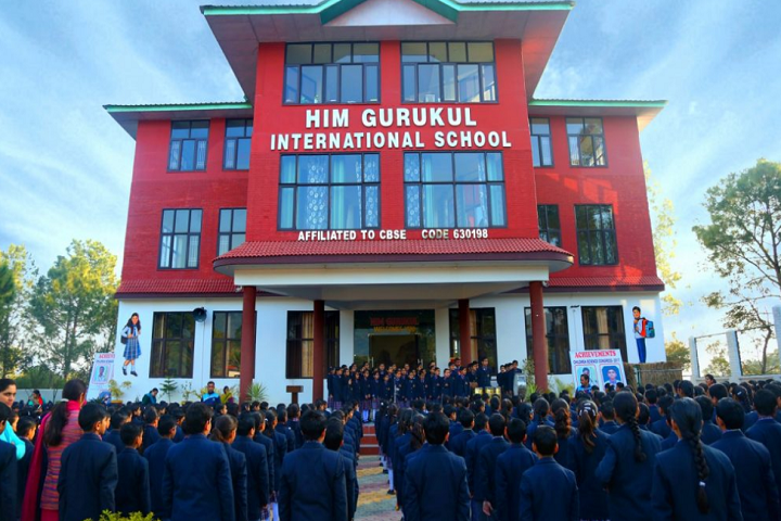 Him Gurukul International School-Campus-View
