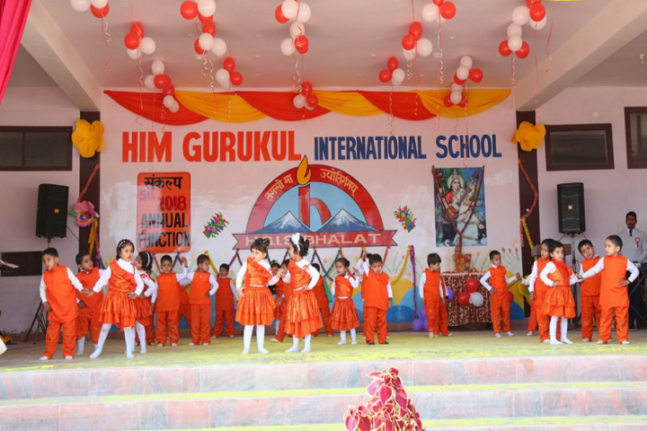 Him Gurukul International School-Dance-Performace