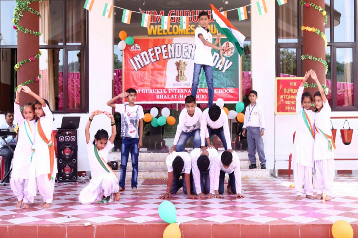 Him Gurukul International School-Independence-Day