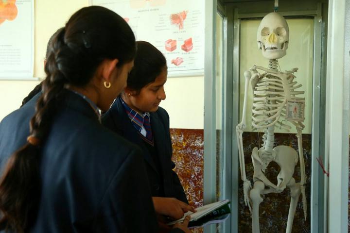 Him Gurukul International School-Physics Lab