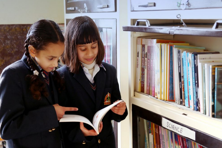 Him Gurukul International School-Library