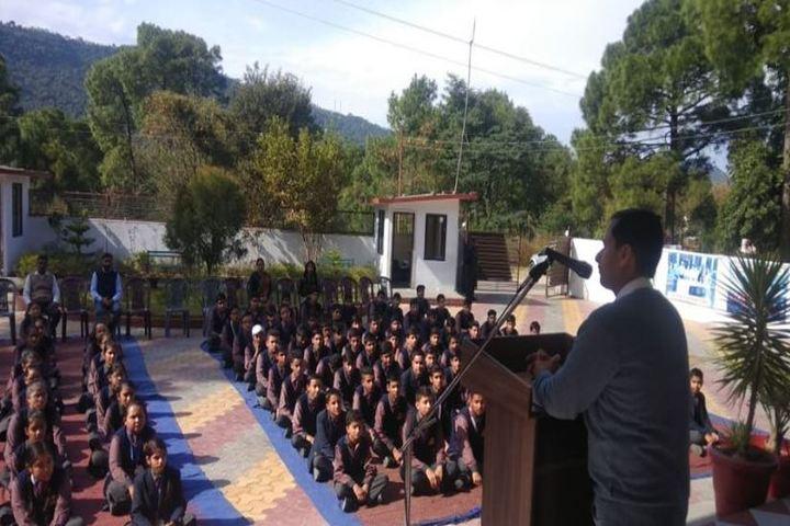 Him Gurukul International School-Awareness Programme