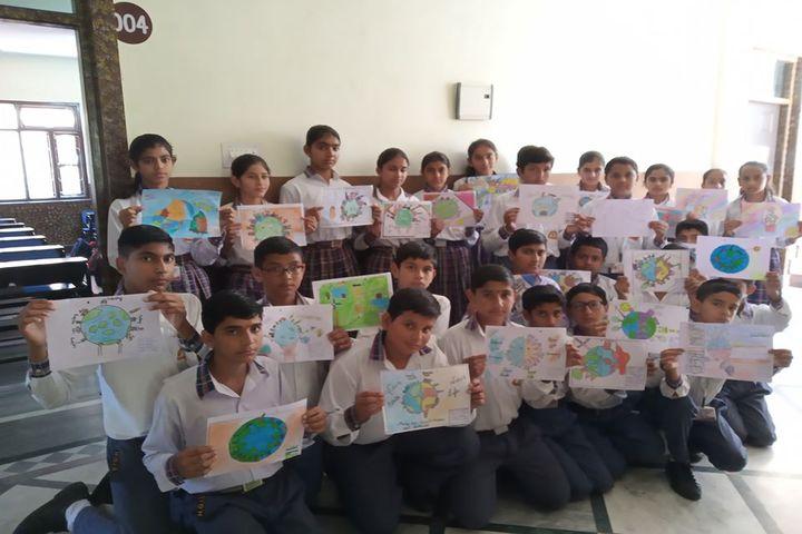 Him Gurukul International School-Drawing Competition