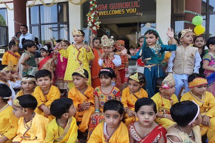 Him Gurukul International School-Festival Celebration