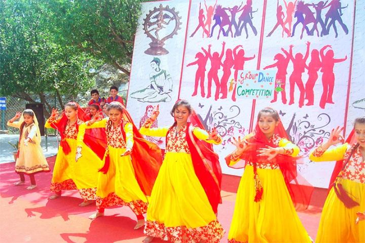 Holy Angels School-Dancing