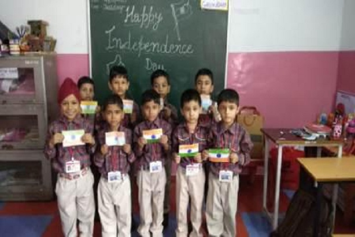 IB DAV Public School-Independence Day