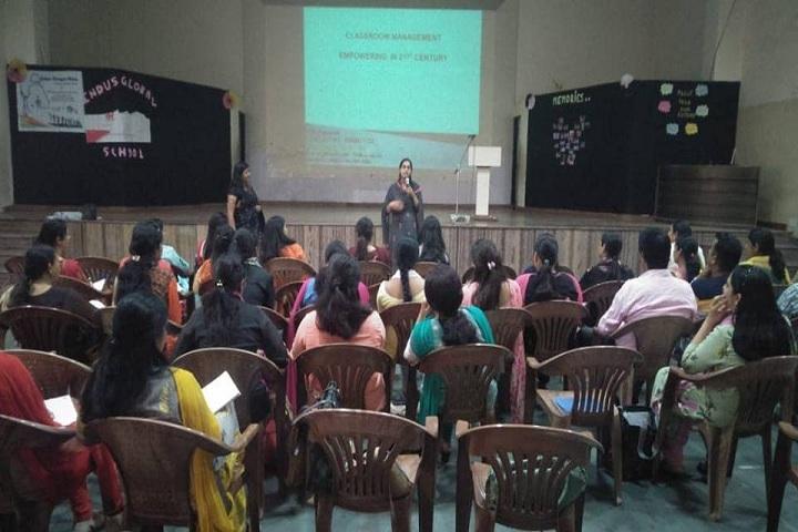Indus Global School-Smart Classroom
