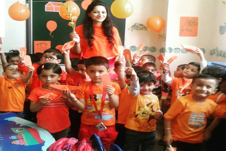 Ivy International School-Orange Day