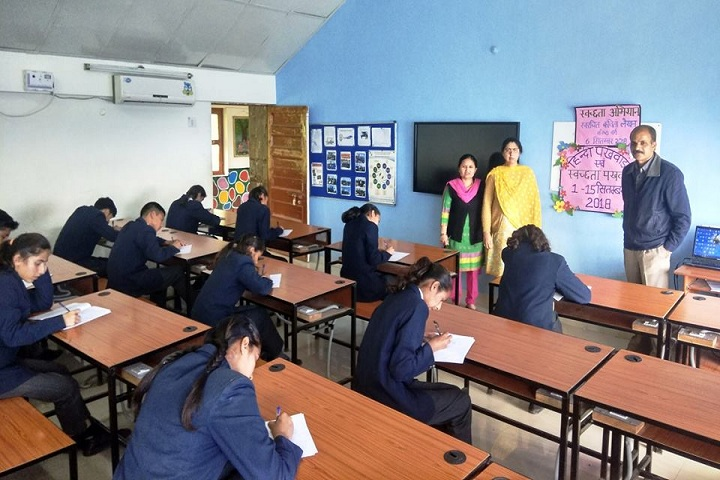 Jawahar Navodaya Vidyalaya-Exam Room