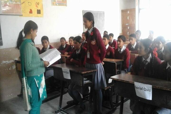 Jeori Public School-Classroom