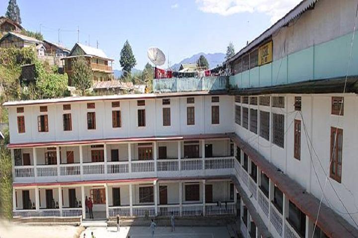 Padi Lailang Memorial School-School Building