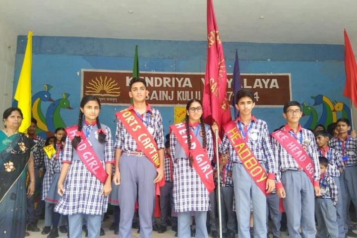 Kendriya Vidyalaya-Investiture-Ceremony