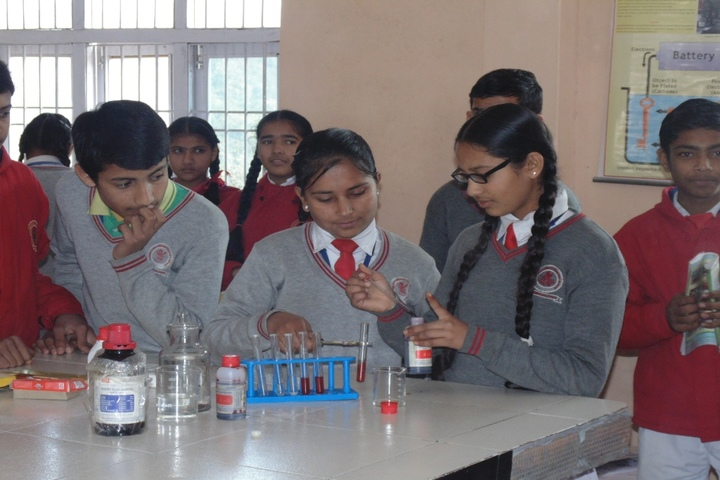 Lotus International Convent School-Chemistry-Lab
