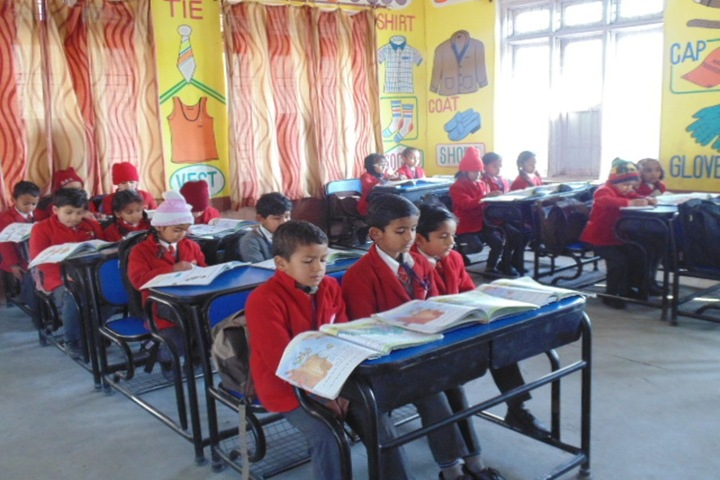Lotus International Convent School-Classroom