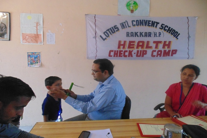 Lotus International Convent School-Medical-Checkup