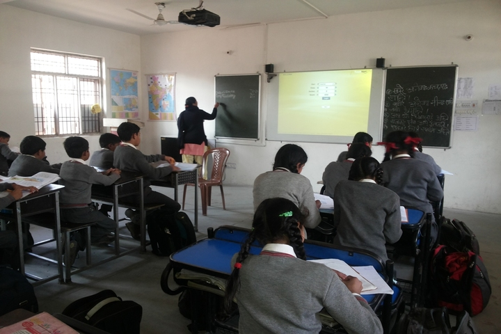 Lotus International Convent School-Smart-Classroom