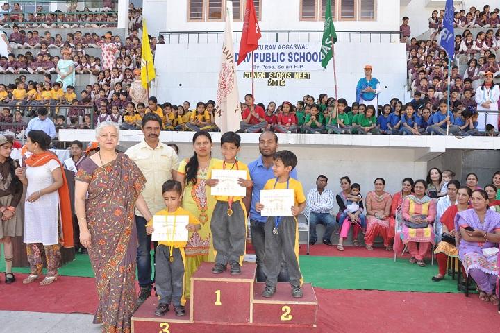 M R A D A V Publilc School-Achievement
