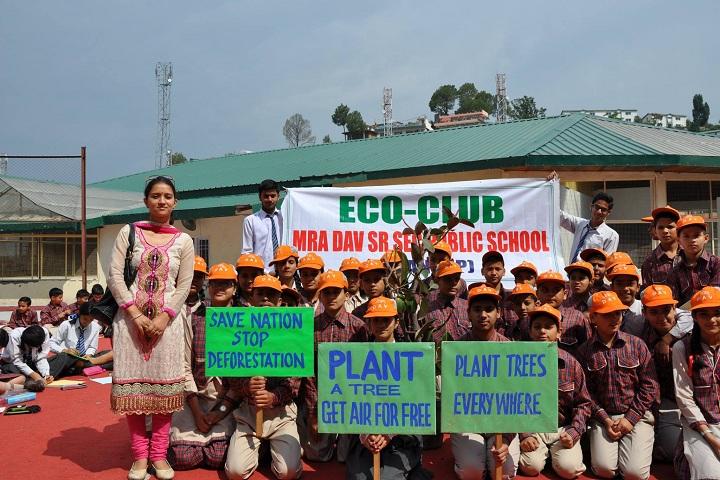 M R A D A V Publilc School-Eco-Club