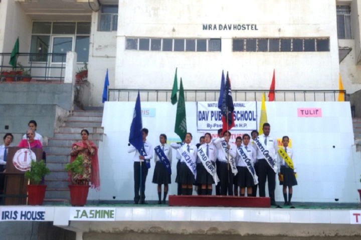 M R A D A V Publilc School-Investitutre Ceremony