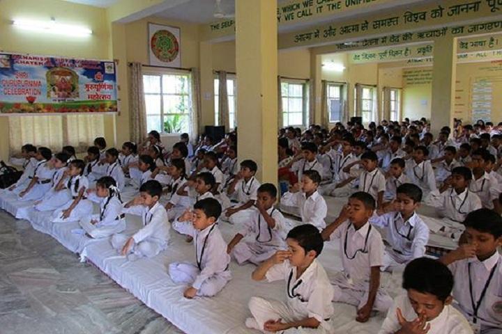 Maharishi Vidya Mandir Public School-Yoga Day