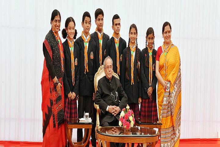 Mahavir Public School-Students