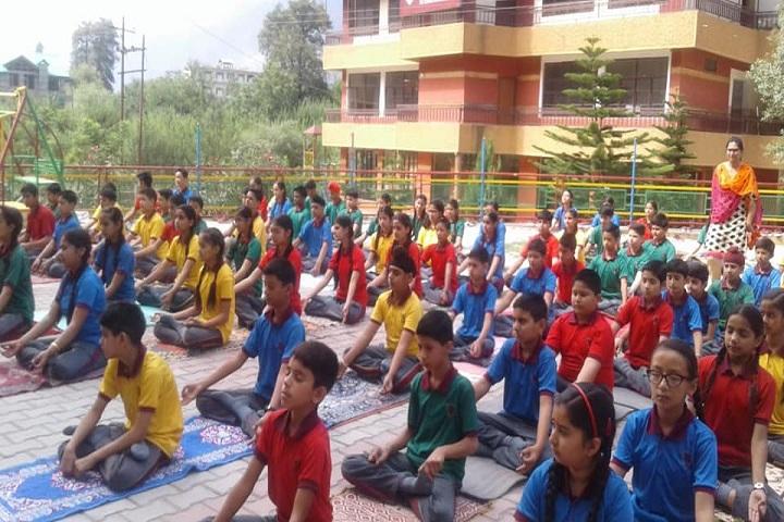 Maxx International School-Yoga Day